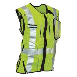 Falltech - G5050SM - Construction Safety Vest, Lime, S/M