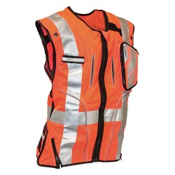 Falltech - G5055SM - Construction Safety Vest, Orange, S/M