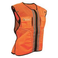 Falltech - G5056SM - Construction Safety Vest, Orange, S/M