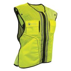 Falltech - G5051SM - Construction Safety Vest, Lime, S/M
