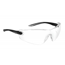 Bolle Safety - 40037 - Bolle Safety 40037 Clear Lens Anti-Scratch/Anti-Fog Cobra Safety Glasses, Black