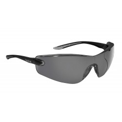 Bolle Safety - 40038 - Bolle Safety 40038 Smoke Lens Anti-Scratch/Anti-Fog Cobra Safety Glasses, Black