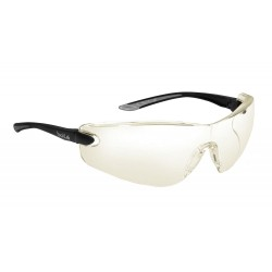 Bolle Safety - 40040 - Cobra Anti-Reflective, Hydrophobic, Scratch-Resistant Safety Glasses, Clear Lens Color