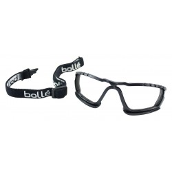 Bolle Safety - 40043 - Bolle Safety 40043 Durable Cobra Strap and Foam Padding Goggle Kit, Black