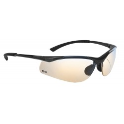 Bolle Safety - 40047 - Bolle Safety 40047 ESP Lens Anti-Scratch Contour Safety Glasses, Dark Gunmetal