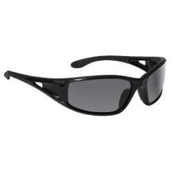 Bolle Safety - 40052 - Bolle Safety 40052 Smoke Lens Lowrider Non-Slip Anti-Fog Safety Glasses, Black