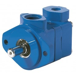 Eaton Electrical - 02-137483-3 - 1 Keyed Double Vane Pump with 60gpm/38gpm Flow Rate