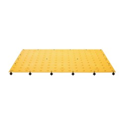 Tuftile - TT2460-WS-YEL-1 - Yellow ADA Warning Pad, 5 ft. x 2 ft. x 13/32