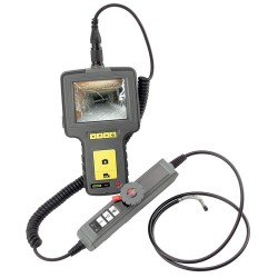 General Tools - DCS16HPART - Recording Video Inspection Camera/Borescope with High-Performance Articulating Probe