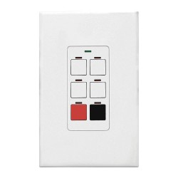 Acuity Brands Lighting - CH6BWHPWH - Digital Wall Switch, White, Wall Installation Type