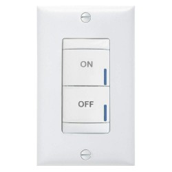Acuity Brands Lighting - BR2 BWH PWH - Digital Wall Switch, White, Wall Installation Type