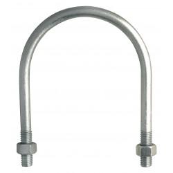 "Chicago Hardware - 53044-6 - 530446 5/16""x1-3/8""x2-3/16"" R Bend H Galv U-bolt"
