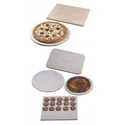 American Metalcraft - STONE14 - 15 x 14 Ceramic Pizza Stone