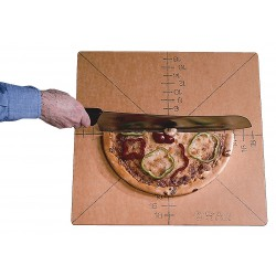 American Metalcraft - MPCUT6 - 20 Pizza Cutting Board, Brown