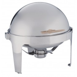 American Metalcraft - ADAGIORD18 - Round Chafer, Stainless, 7 qt.