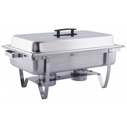 American Metalcraft - ECON22 - Chafer, Roll Top, Stainless, 8 qt.