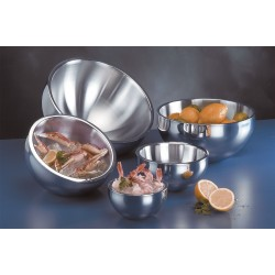 American Metalcraft - AB12 - Bowl, Insulated, Silver, 108 oz.
