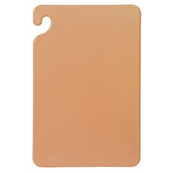 San Jamar - CB182412BRGR - 18 x 24 Co-Polymer Cutting Board, Brown