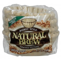 Rockline Industries - 45-200N50 - 2-1/4 x 3-1/4 Natural, Basket Style Coffee Filter; PK2400