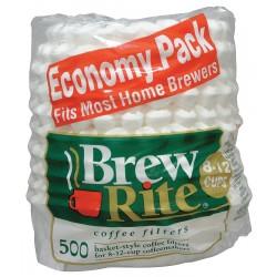 Rockline Industries - 45-501 - 2-1/4 x 3-1/4 White, Basket Style Coffee Filter; PK6000