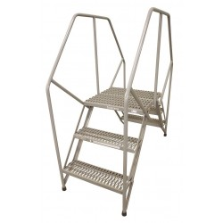 Cotterman - 3PC48A3B1C1P6 - Crossover Ladder, Steel, 30 Platform Height, 32-1/2 Span, Number of Steps 3