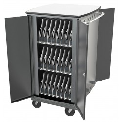 Balt / MooreCo - 27695-6 - Charging Cart, Capacity 48, Locking Mechanism: Yes, Steel