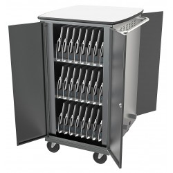 Balt / MooreCo - 27705-4 - Syncing and Charging Cart, Capacity 32, Locking Mechanism: Yes, Steel