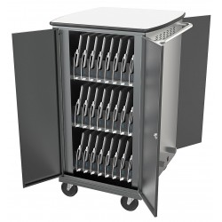 Balt / MooreCo - 27705-6 - Syncing and Charging Cart, Capacity 48, Locking Mechanism: Yes, Steel