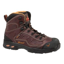 Weinbrenner Shoe - 804-4037 - 6H Men's Hiking Boots, Composite Toe Type, Leather Upper Material, Brown, Size 10-1/2M