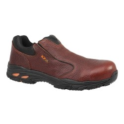 Weinbrenner Shoe - 804-4061 - 3H Men's Oxford Shoes, Composite Toe Type, Leather Upper Material, Brown, Size 10-1/2M