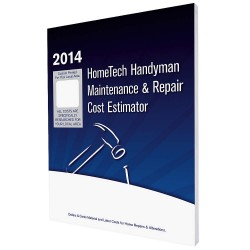 HomeTech Publishing - CA 06 HM - Cost Estimating Book, Small Job Maintenance and Repair, English, CA, Sacramento and Vicinity