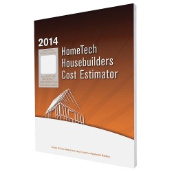HomeTech Publishing - CA 01 HB - Cost Estimating Book, Residential Construction, English, CA, Bakersfield and Vicinity, Paperback