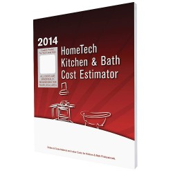 HomeTech Publishing - AR 02 KB - Cost Estimating Book, Kitchen and Bath Remodeling, English, AR, Little Rock and Vicinity, Paperback
