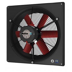 Vostermans - 4E45-K-240V - 23-3/8 x 23-3/8 240VACV Corrosion Resistant, Medium Performance 1-Phase Exhaust Fan
