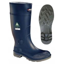 Baffin - 96770000 - 15H Men's Knee Boots, Steel Toe Type, Oarprene Upper Material, Blue, Size 7