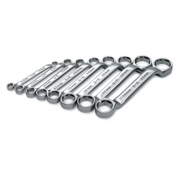 SK Hand Tool - 86198 - Box End Wrench Set, Metric, Number of Pieces: 8, Number of Points: 6, 6 to 20mm