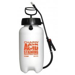 Chapin - 22240XP - Handheld Sprayer, Polyethylene Tank Material, 2 gal., 45 psi Max Sprayer Pressure
