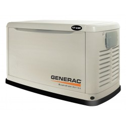 Other - 6439 - Generac 6439 Generator, Standby, 11kW, Air Cooled, 120/240VAC, Natural Gas, LPG