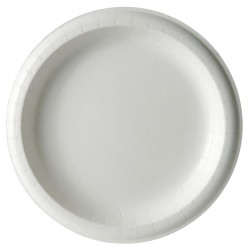Dixie - SXP6W - 5-7/8 Round Disposable Plate, White; PK1000