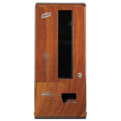Dixie - SSFAUTOWOO - Fork Dispenser, Walnut, Height 23, Width 10, Depth 6-1/4
