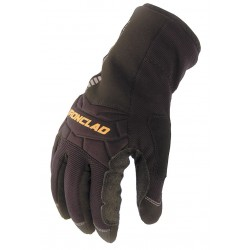 Ironclad - CCW2-04-L - Cold Protection Gloves, Insulated Lining, Gauntlet Cuff, Black/Black, L, PR 1
