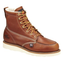 Weinbrenner Shoe - 804-4200 9EE - 6H Men's Moc Toe Work Boots, Steel Toe Type, Leather Upper Material, Brown, Size 9EE