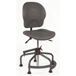 Lyon Workspace XX103263 Gray Multitask Chair 19 To 35 Seat Height