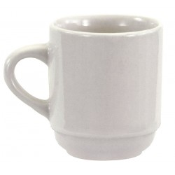 Crestware - AL10 - Cup, Bright White, 3-1/2 oz., PK36