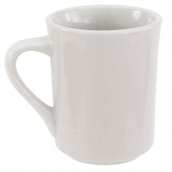 Crestware - AL16 - Mug, Bright White, 8-1/2 oz., PK36