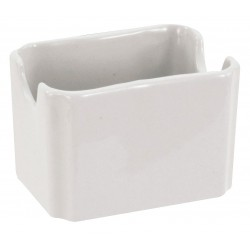 Crestware - AL68 - Sugar Packet Holder, Bright White, PK48