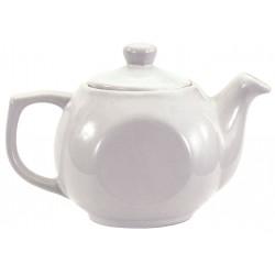 Crestware - AL74 - Tea Pot, Bright White, 14 oz., PK12