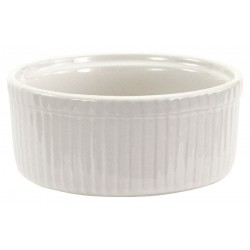 Crestware - AL77 - 5 oz. Ceramic Ramekin, Bright White