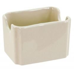 Crestware - CM68 - Sugar Packet Holder, Bone White, PK48