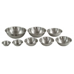 Crestware - MBP04 - 4 qt. Stainless Steel Mixing Bowl